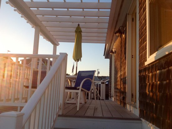 Inn On The Beach: Our private deck