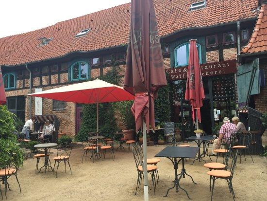 Mellenthin, Alemanha: BIO-Waffelbäckerei Gutshof Insel Usedom