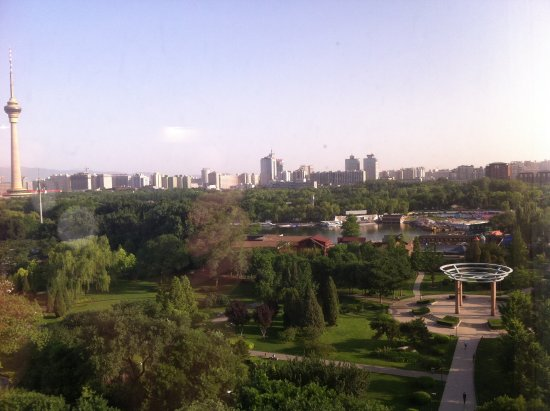 Media Center Hotel: Lovely view of the park - great for a walk on the morning or evening