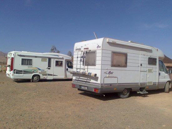 Gite Amoudou : emplacement camping car