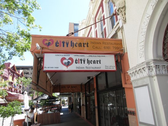 Front of restaurant on pier street picture of city heart for Indian city restaurant