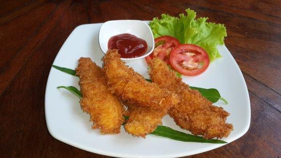 Banh Mi Guest House: Gai chup ket kanom pang