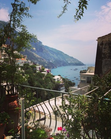 Venus Inn B&B Positano: Stunning view from my room, amazing!