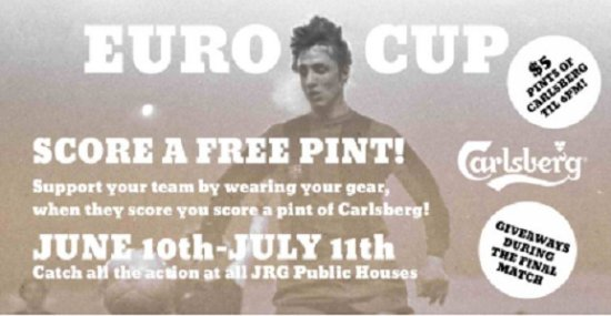 Surrey, Canada: EURO CUP 2016 at all BC JRG Public Houses!