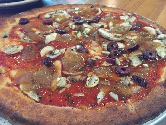 Bedford, MA: GLUTEN FREE + VEGAN PIZZA CRUST!!!