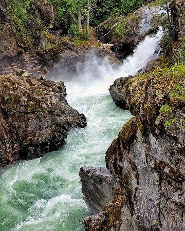 Pemberton, Canada: the falls