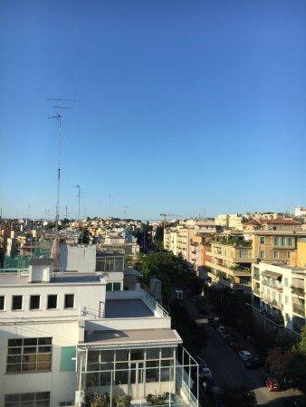 Hotel Regent Roma: vista dalla finestra