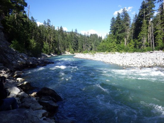 Pemberton, Καναδάς: the river
