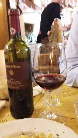 All'Antico Ristoro Di Cambi: Vino rosso