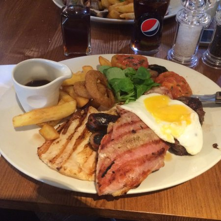 The Southcote Beefeater: Mixed Grill