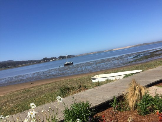 Los Osos, Kalifornia: View from cafe.