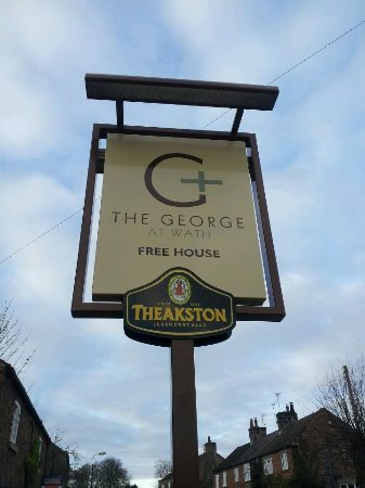 The George at Wath: Sign