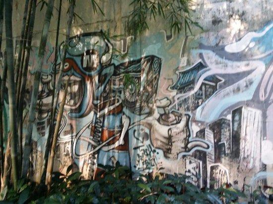 Buji Graffiti Wall