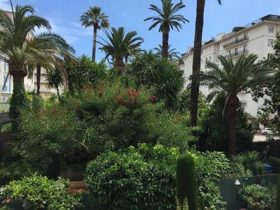 Hotel Festival: vue de notre chambre