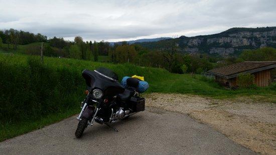 Avressieux, Frankreich: Aussicht vom Parkplatz