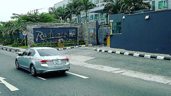 """Radisson Blu Anchorage Hotel, Lagos: Radisson Blu Hotel on Victoria Island in Lagos from """"Lagos in Motion: Sights and Sounds of Afric"""