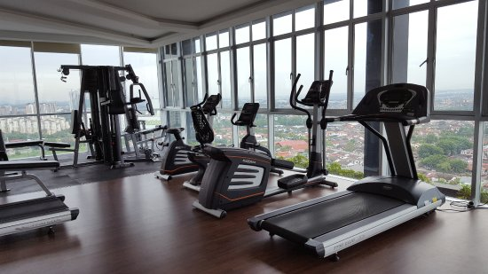 Fully equiped gym picture of holiday villa johor bahru city