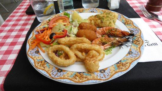 Fragua Grill: salade marine