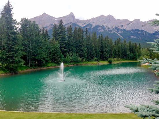 Canmore Golf and Curling Club: Canmore Golf Club - View from the deck
