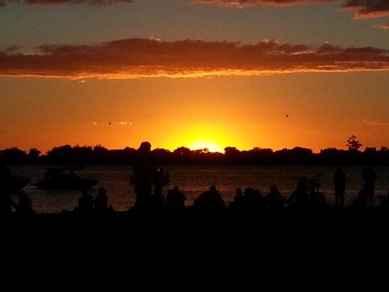 Guaiba Lake (River): Pôr do sol maravilhoso!!!