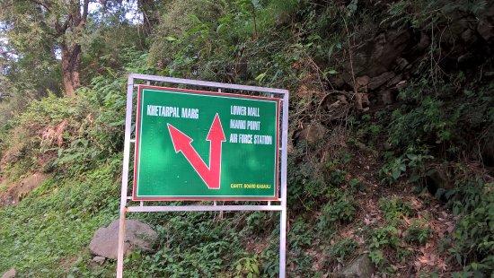 Khetarpal Marg: 100m from Hotel alasia, lower mall, kasauli
