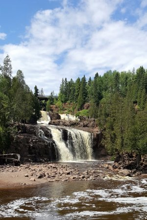 Gooseberry Falls State Park : The Falls