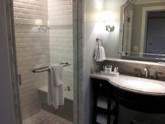 shower and sink in one part of bathroom picture of disney s grand rh tripadvisor com