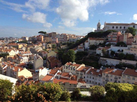 Olissippo Castelo: Fantastisk udsigt