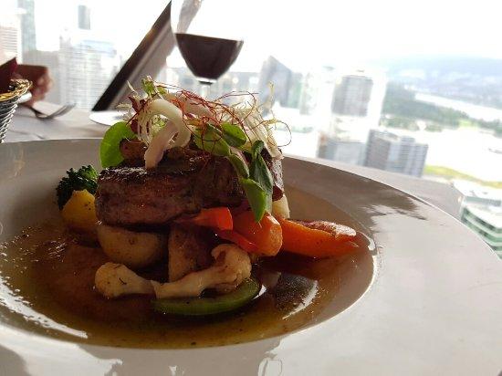 Top Of Vancouver Revolving Delicious Four Course Menu
