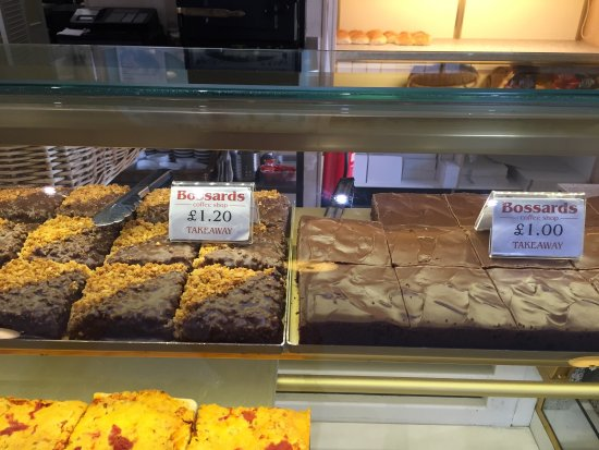Bossards Patisserie: 200 plus pastries and cakes available Daily from 10am yummy