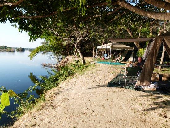 Namwi Island Camp Site Foto