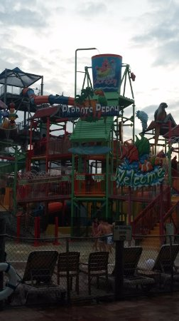 Coco Key Hotel and Water Park Resort: Outdoor section of the water park