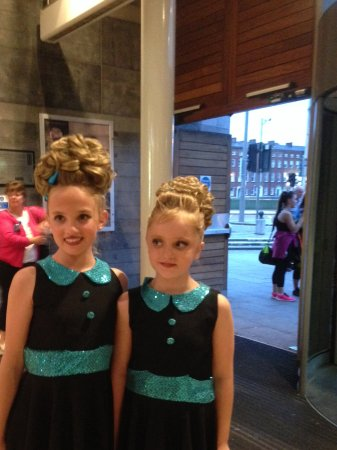 Opera House at Emmet Place: Smiling Olivia this time , with Olivia , who were dancing 👌👌👌