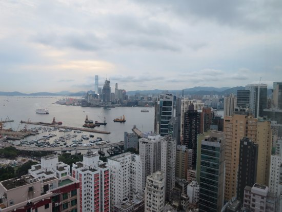 L'hotel Causeway Bay Harbour View: Photo from top floor