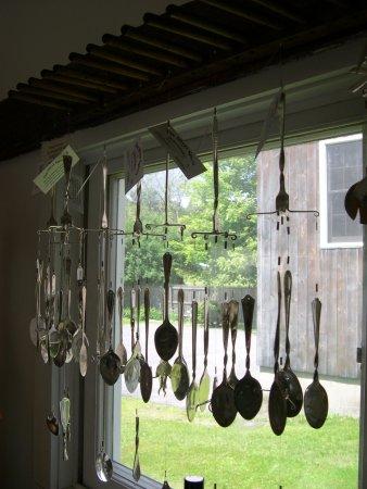 Chester, Vermont: Silverware Art