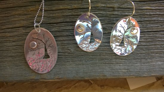 Chester, VT: Jewelry made on site