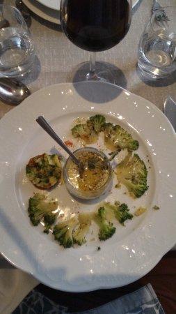 La Roustide : Atrticulatin of broccoli: nice idea, but not a sensational execution