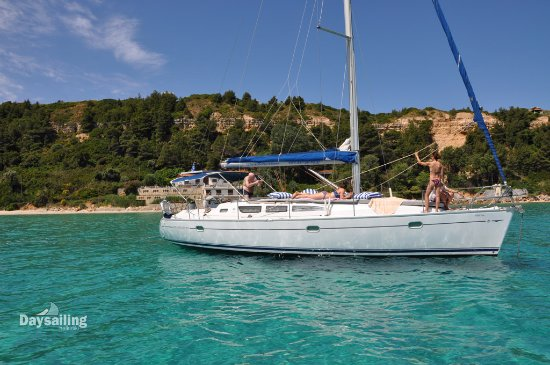 Afitos, Greece: S/Y Sirena Athitos bay