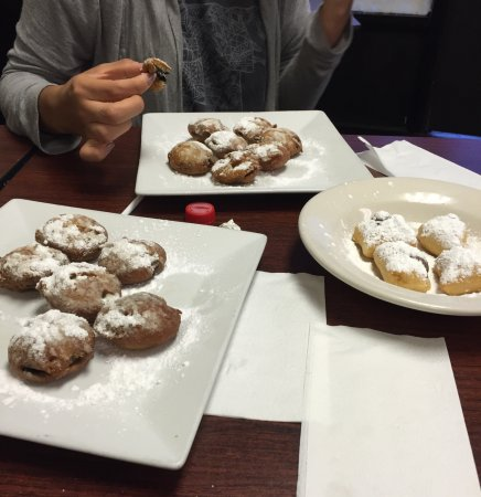 Deep fried Oreos at Ameti's in Clifton