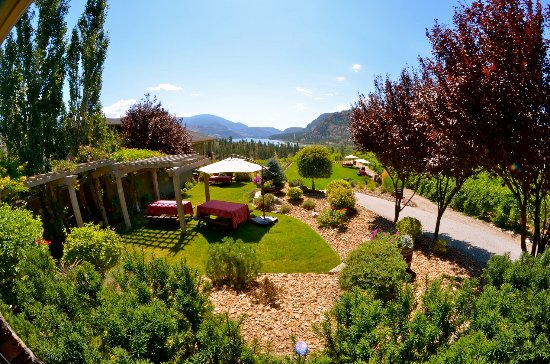 Okanagan Falls, Canada: The stunning views will take your breath away