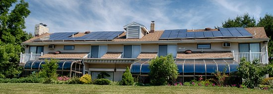 Clarksburg, NJ: House has both passive and active solar
