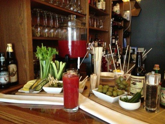 Clinton, NY: Bloody Mary Bar