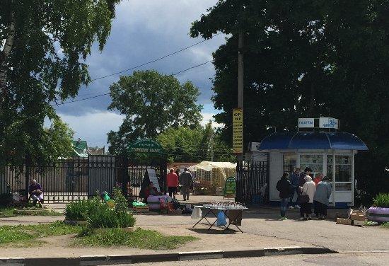 Staritsa, Rosja: Вход на Старицкий рынок