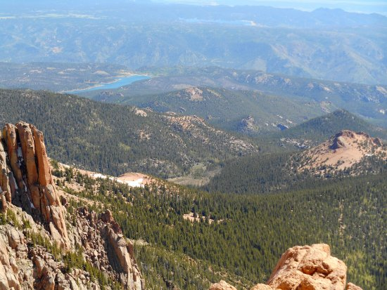 View from Road to Pikes Peak
