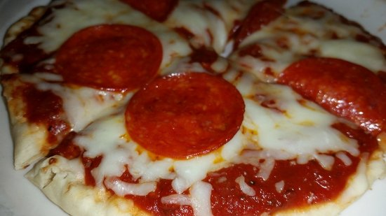 Foxburg, Pensilvania: kid's pita pizza
