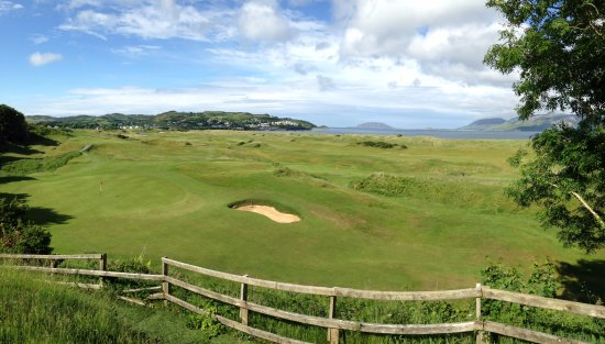 Portsalon Golf Club: Yes, you need to hit over the green of the previous hole..
