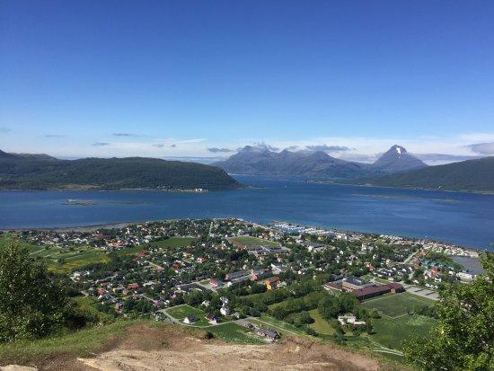 Nesna, Norge: Utsikten 25. Juni 2026
