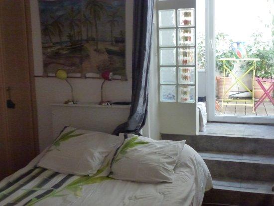 Habitation Bougainville : chambre zapotille