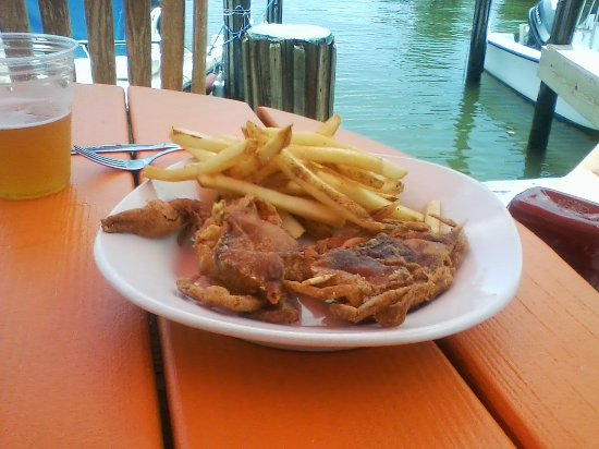 Oxford, MD: Soft Shell Crabs