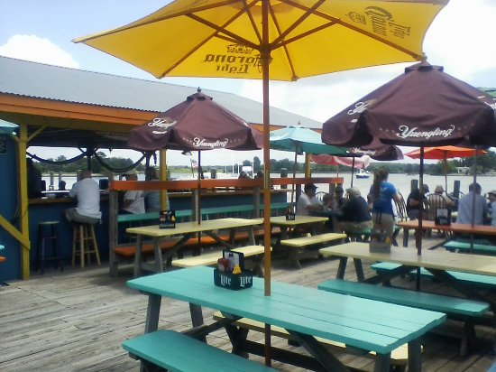 Oxford, MD: Outside deck and bar area